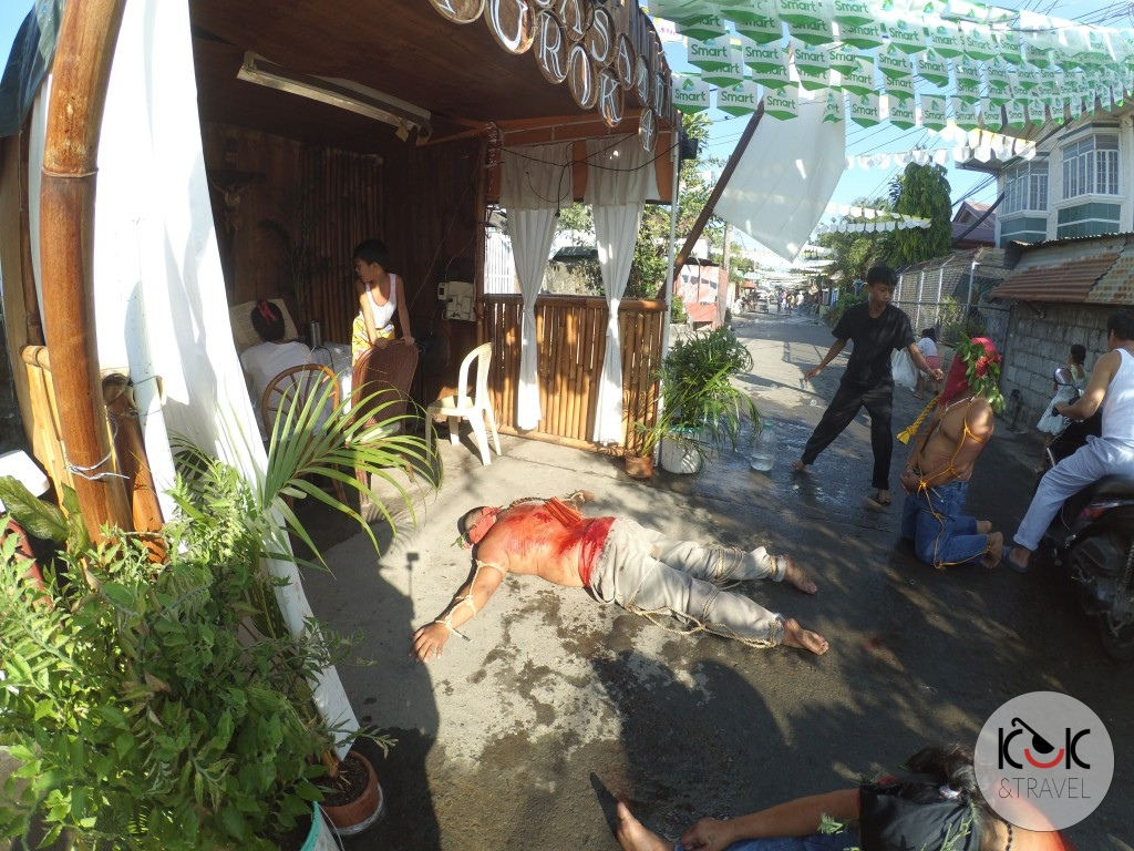 Bloody Good Friday in Angeles, the Philippines