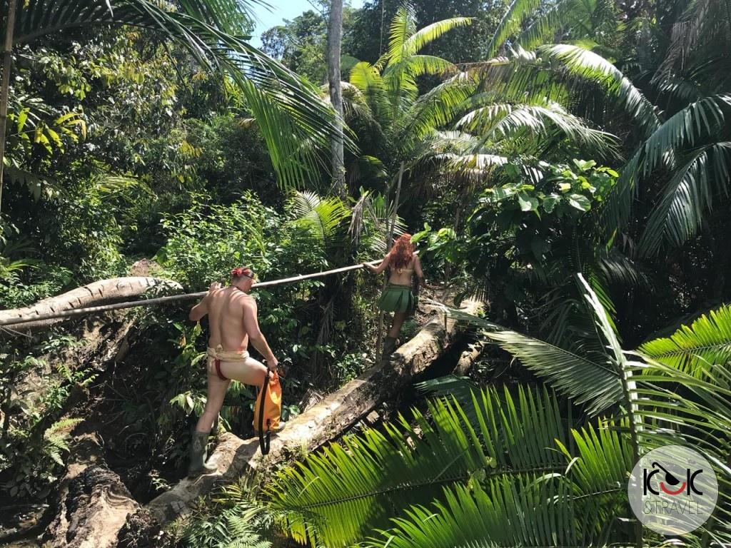 5-dniowy pobyt w dżungli z Mentawajami